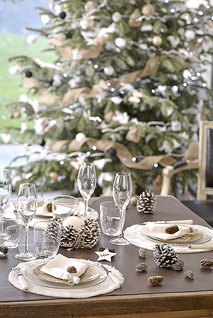 Décoration Noël Rustique Champêtre
