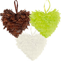 Le Coeur Plumes Taille Moyenne